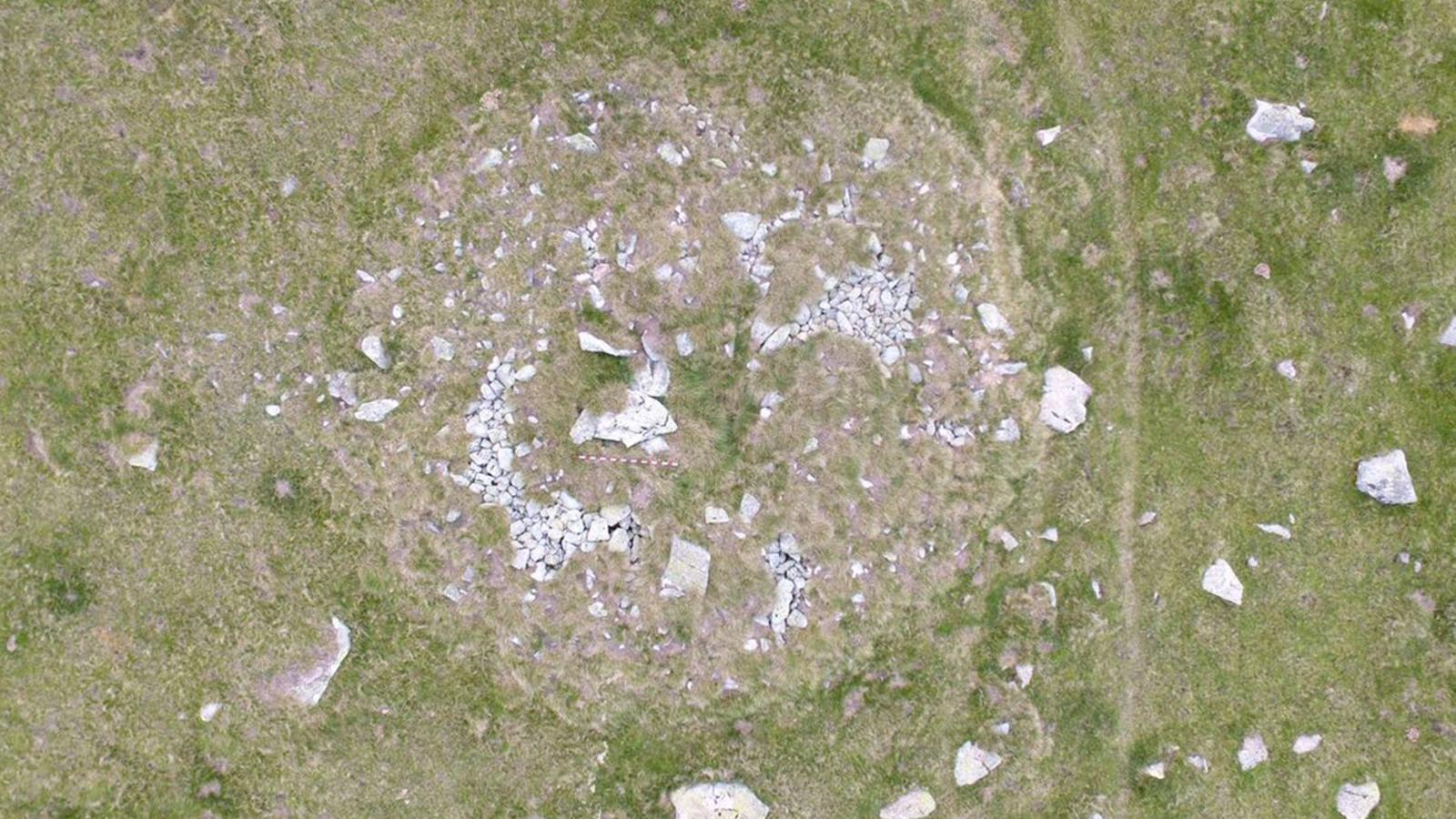 Dolmen trobat als Orris d'Encamp. / GOVERN D'ANDORRA