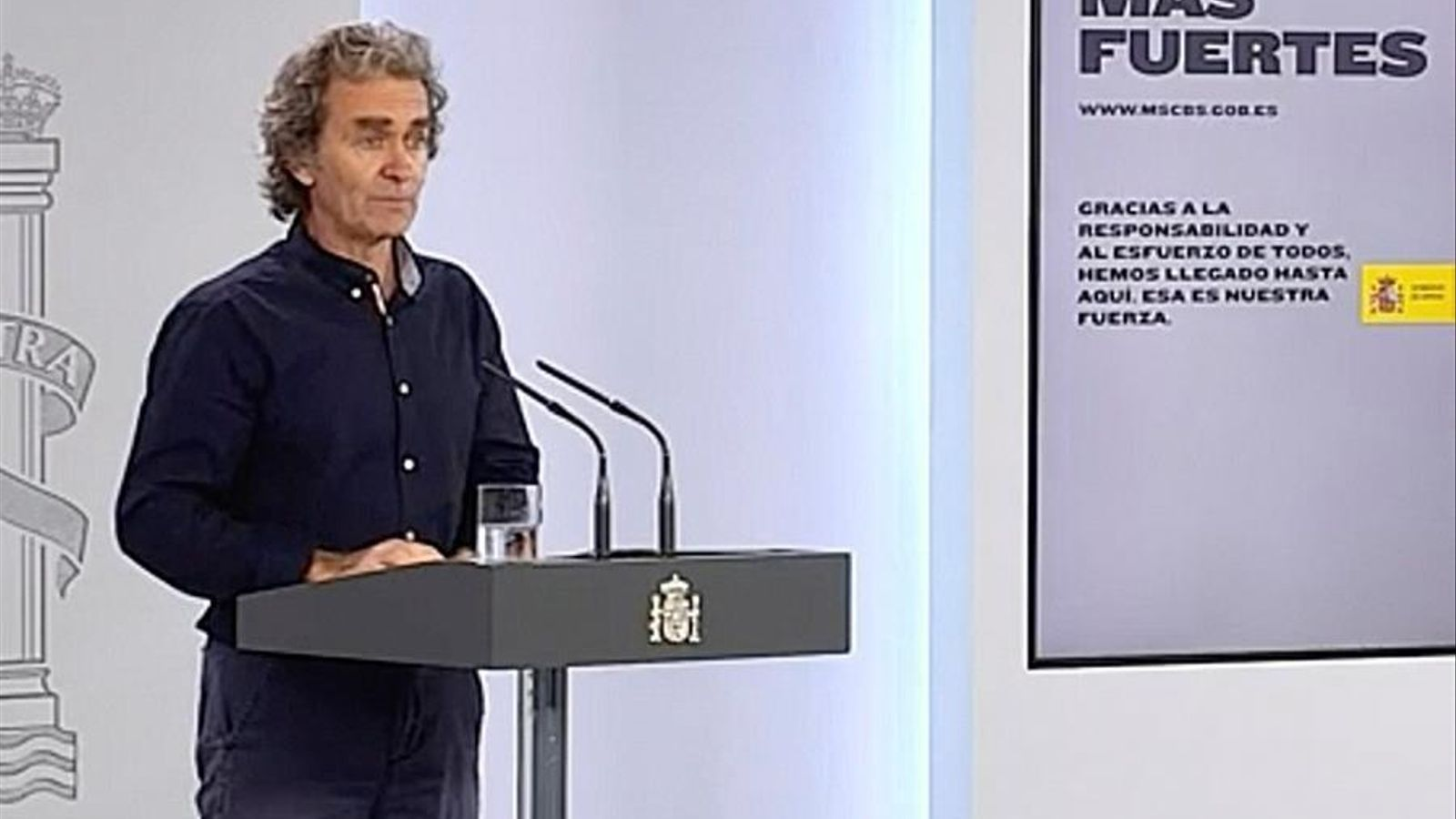 Fernando Simón compareix per explicar les dades del segon estudi serològic sobre el covid-19 a Espanya