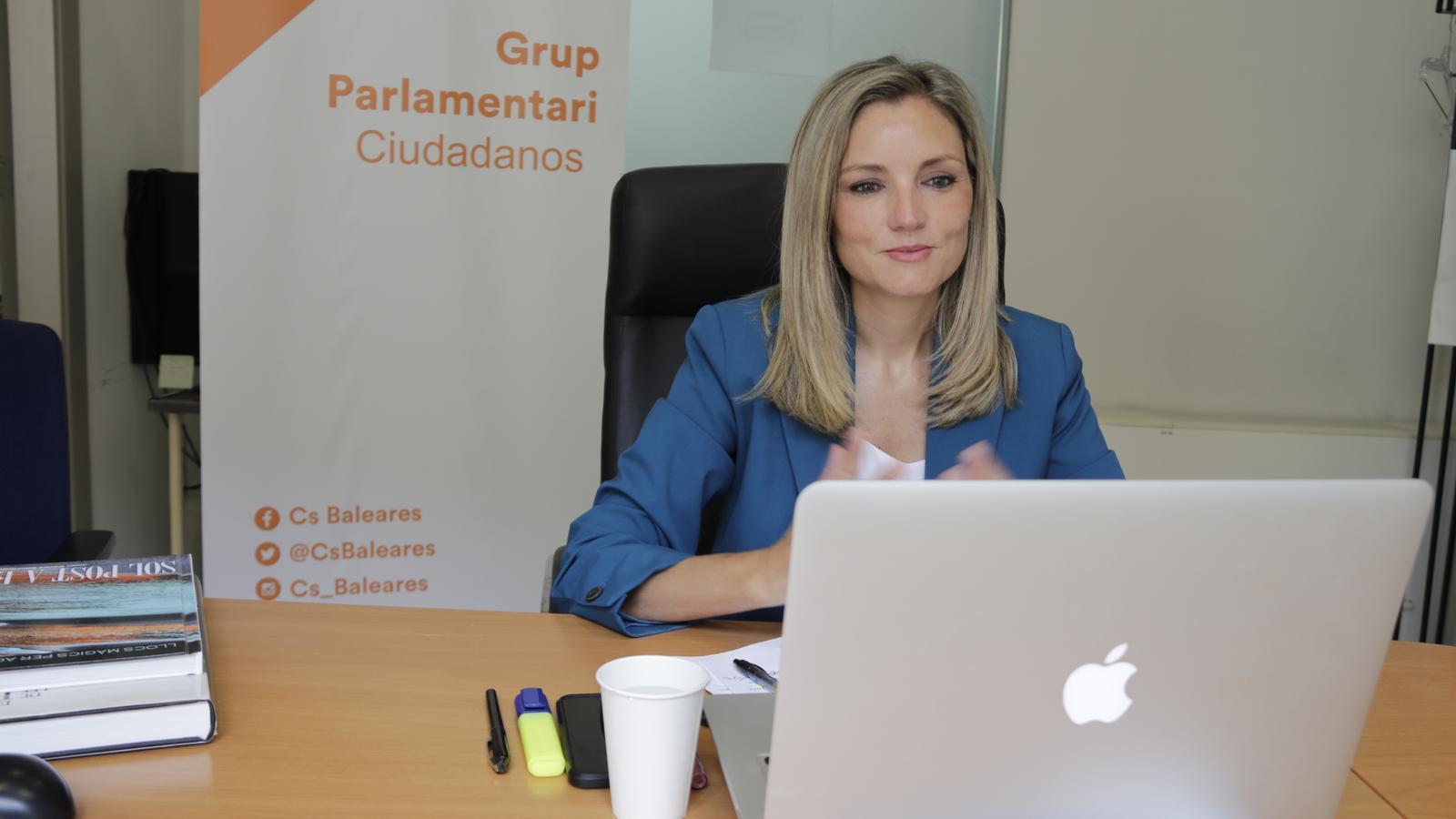 La portaveu de Ciutadans al Parlament, Patricia Guasp.
