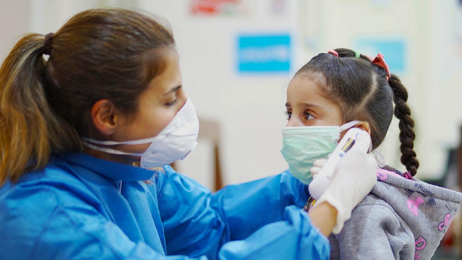Nacions Unides ha advertit de l'impacte de la crisi sanitària en els menors