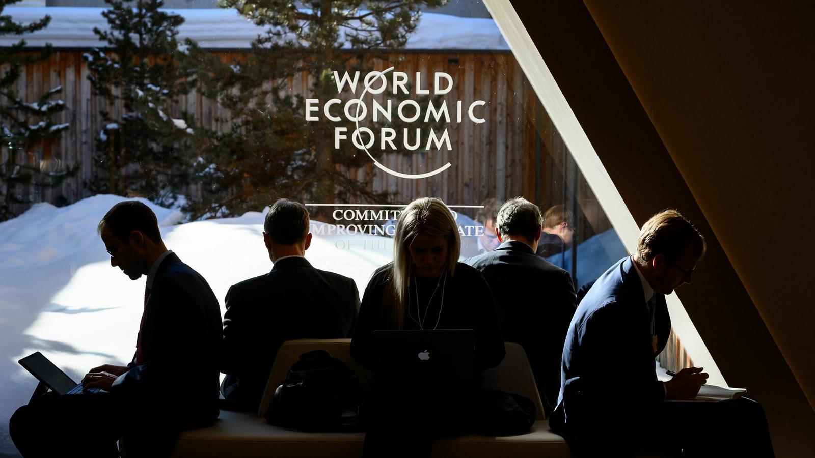 Participants del Fòrum Econòmic Mundial de Davos.