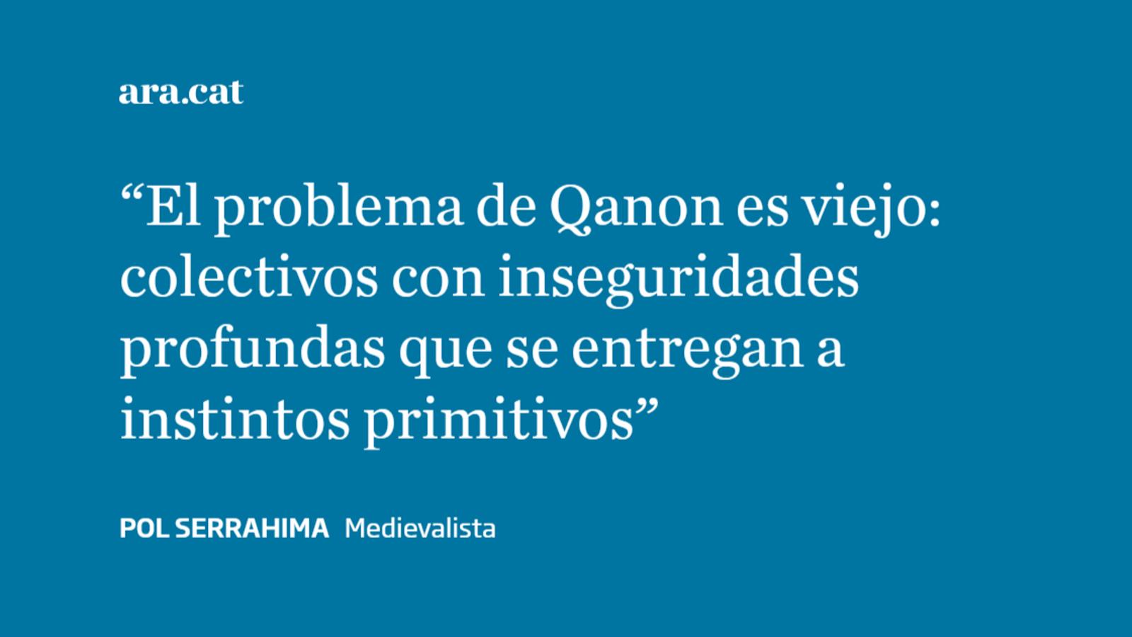 QAnon o la derecha milenarista del siglo XXI