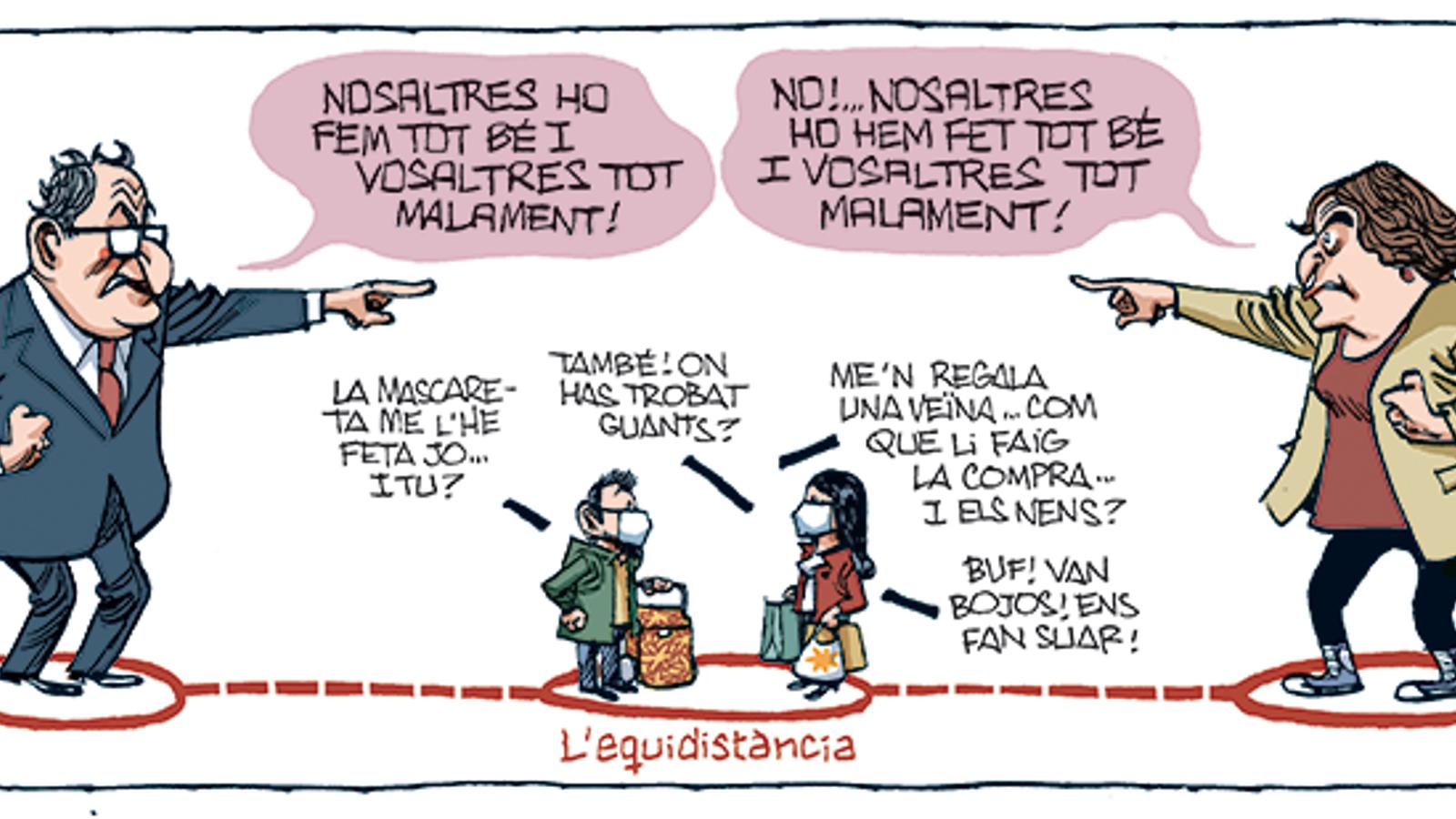'A la contra', per Manel Fontdevila 18/04/2020