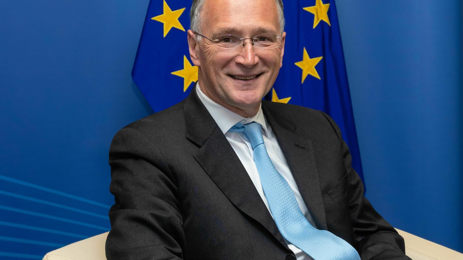 El professor i president del Consell Europeu d'Investigació, Mauro Ferrari