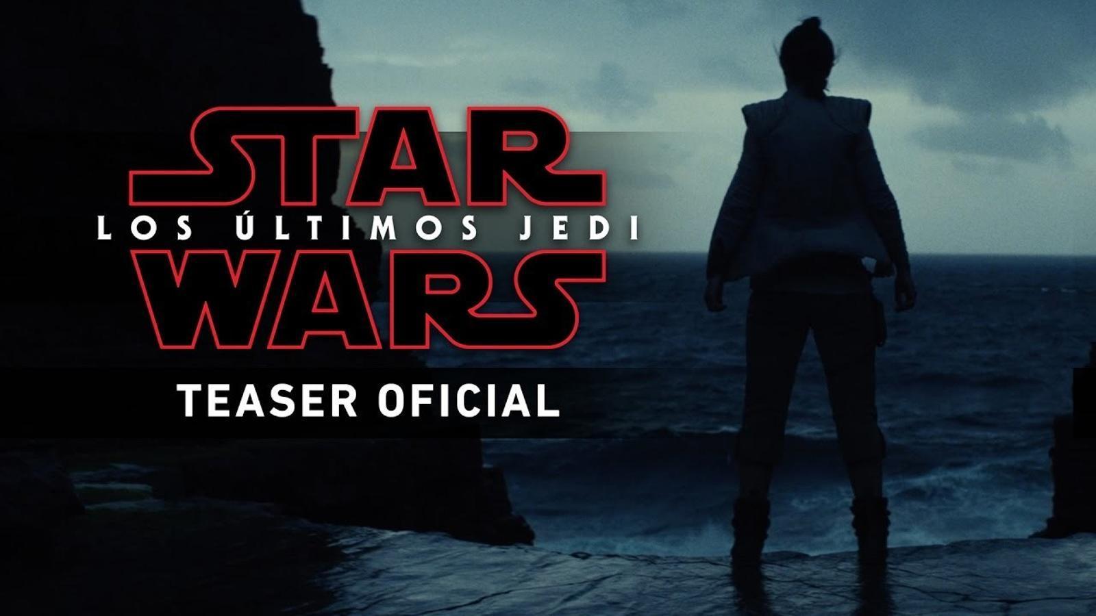 Surt el primer tràiler de 'Star Wars: L'últim Jedi'