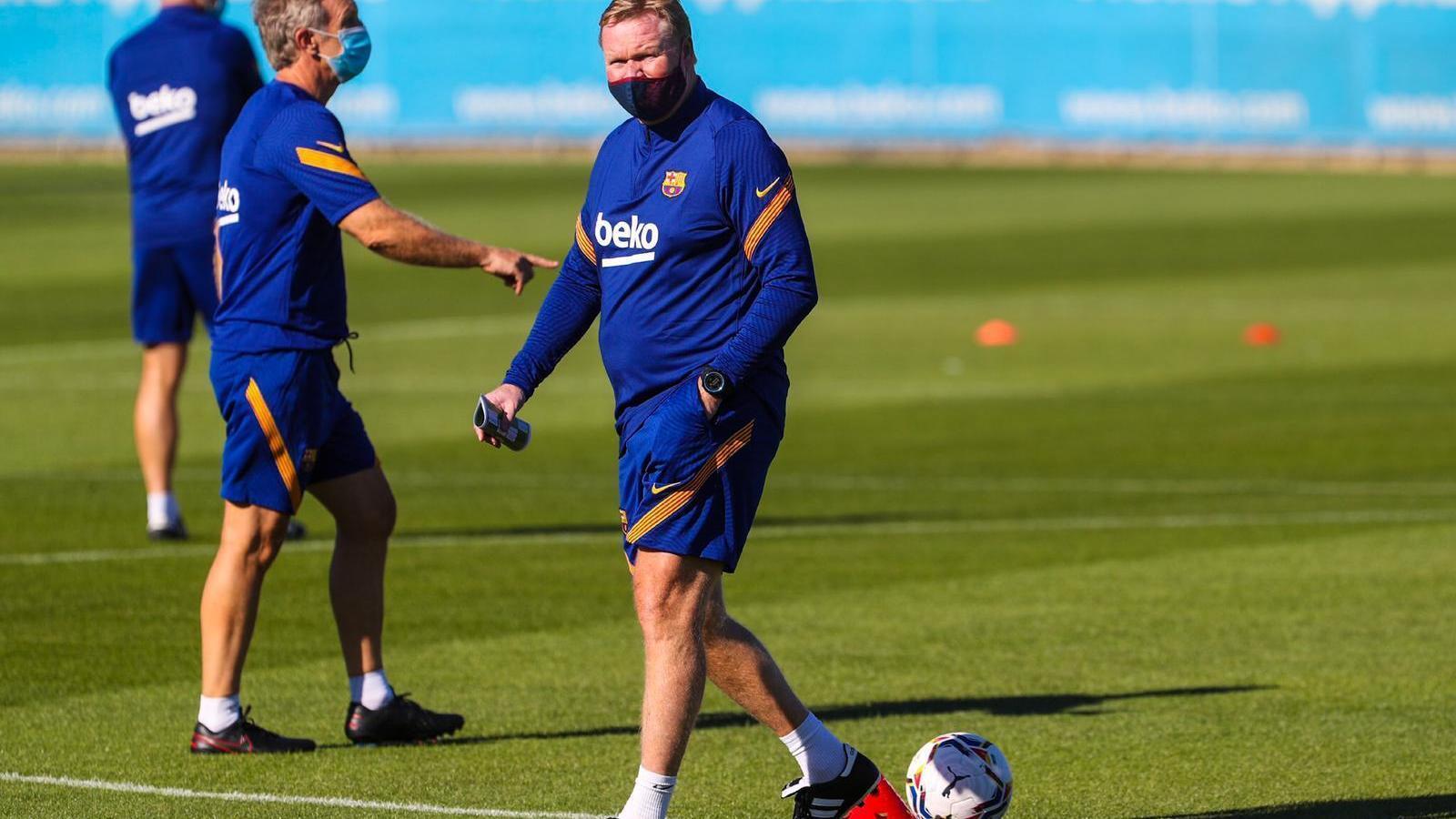 Messi no cedeix i no apareix al primer entrenament de Koeman