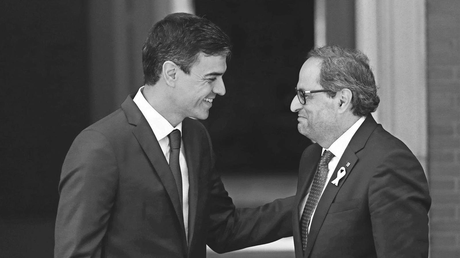 L'anàlisi d'Antoni Bassas: 'Torra i Sánchez, ni desgel ni pas enrere: «realpolitik»'