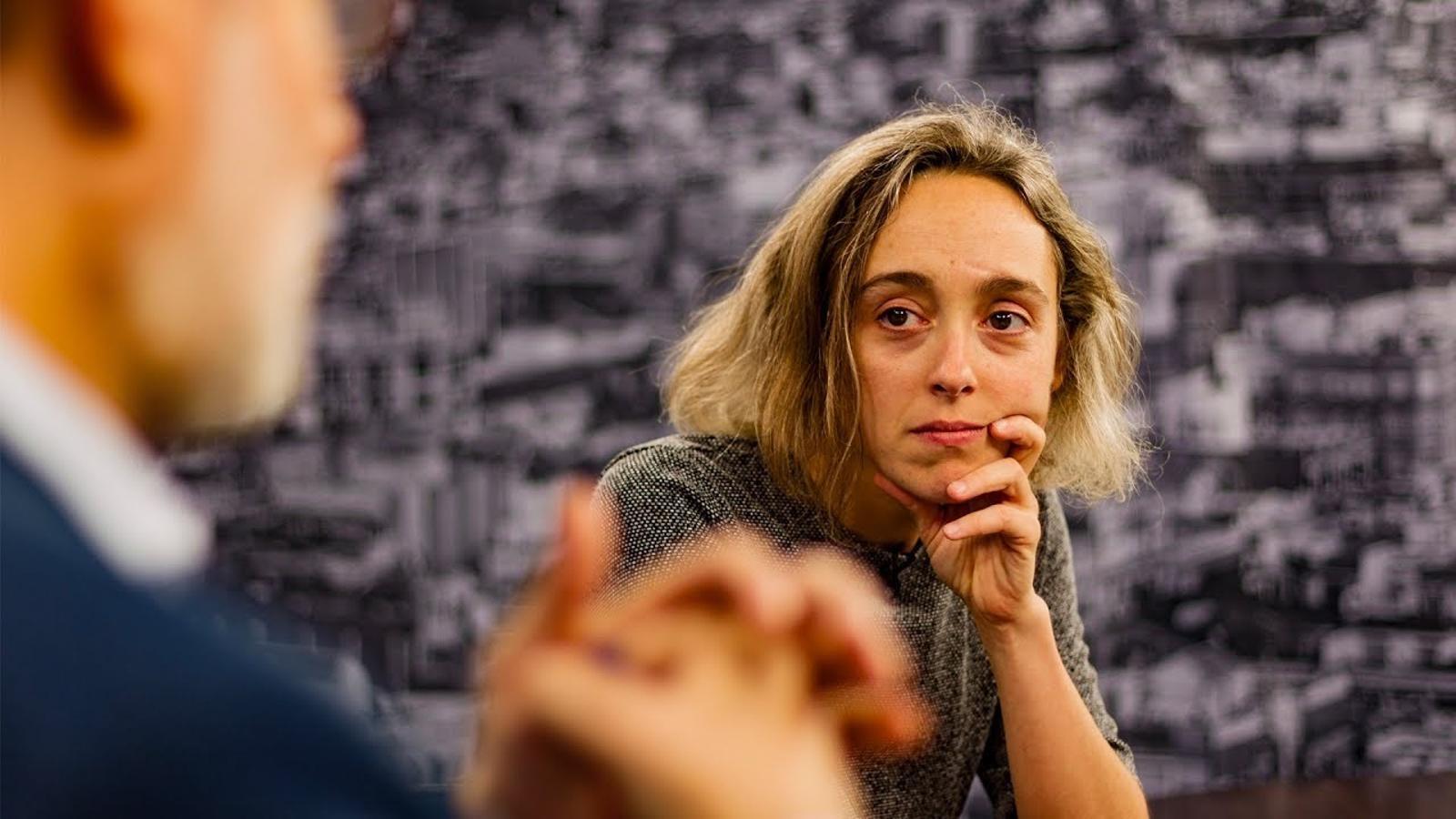 Entrevista d'Antoni Bassas a Ingrid Guardiola