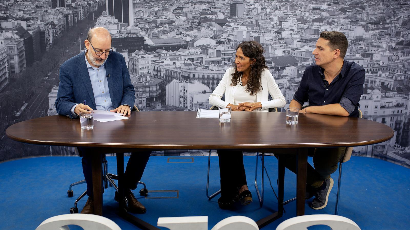 Entrevista d'Antoni Bassas a Gala Serrano i Daniel Toro