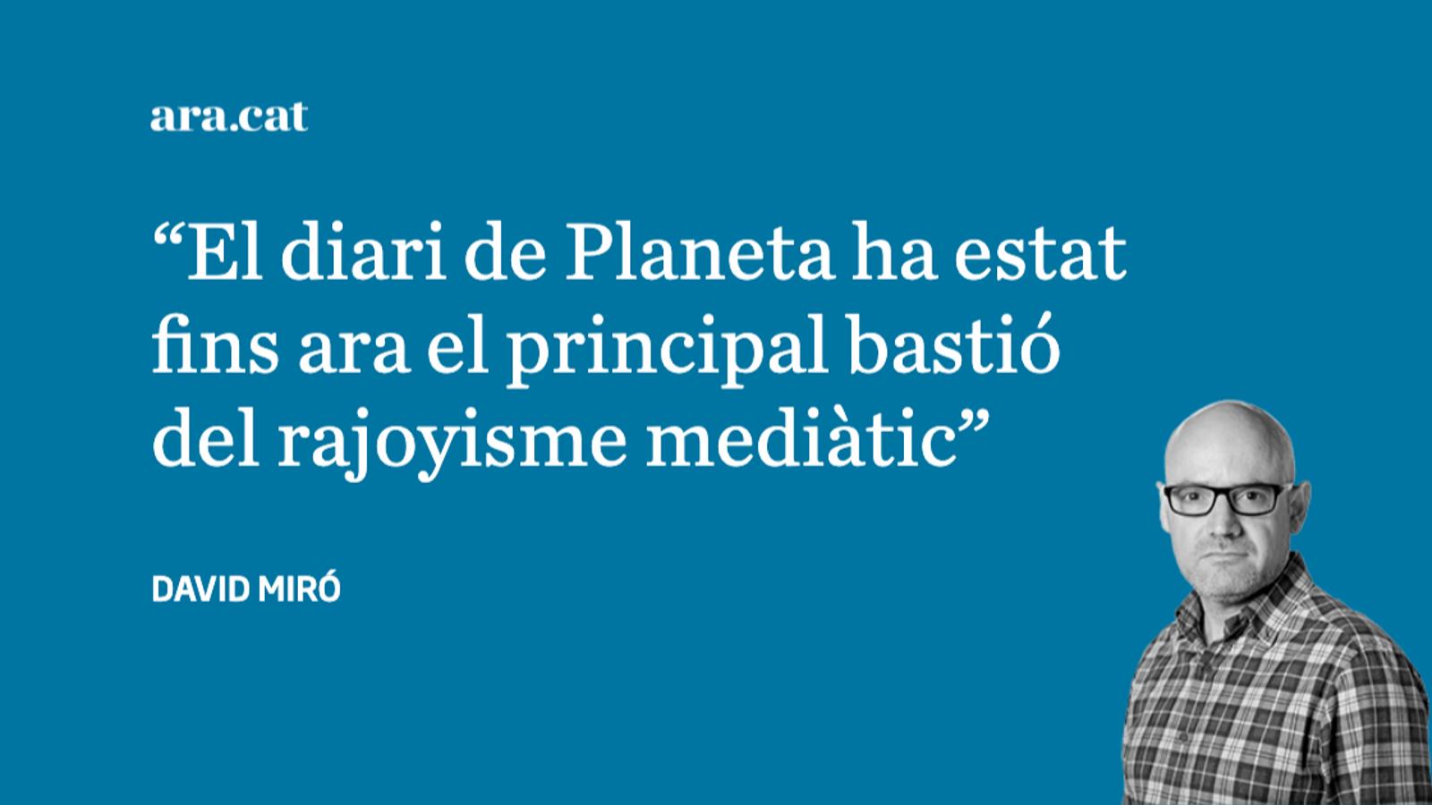 'La Razón' trenca amb Rajoy