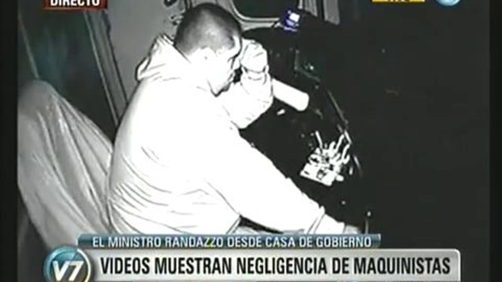 Polèmica a l'Argentina per la difusió de vídeos de maquinistes dormint, llegint o jugant amb el mòbil