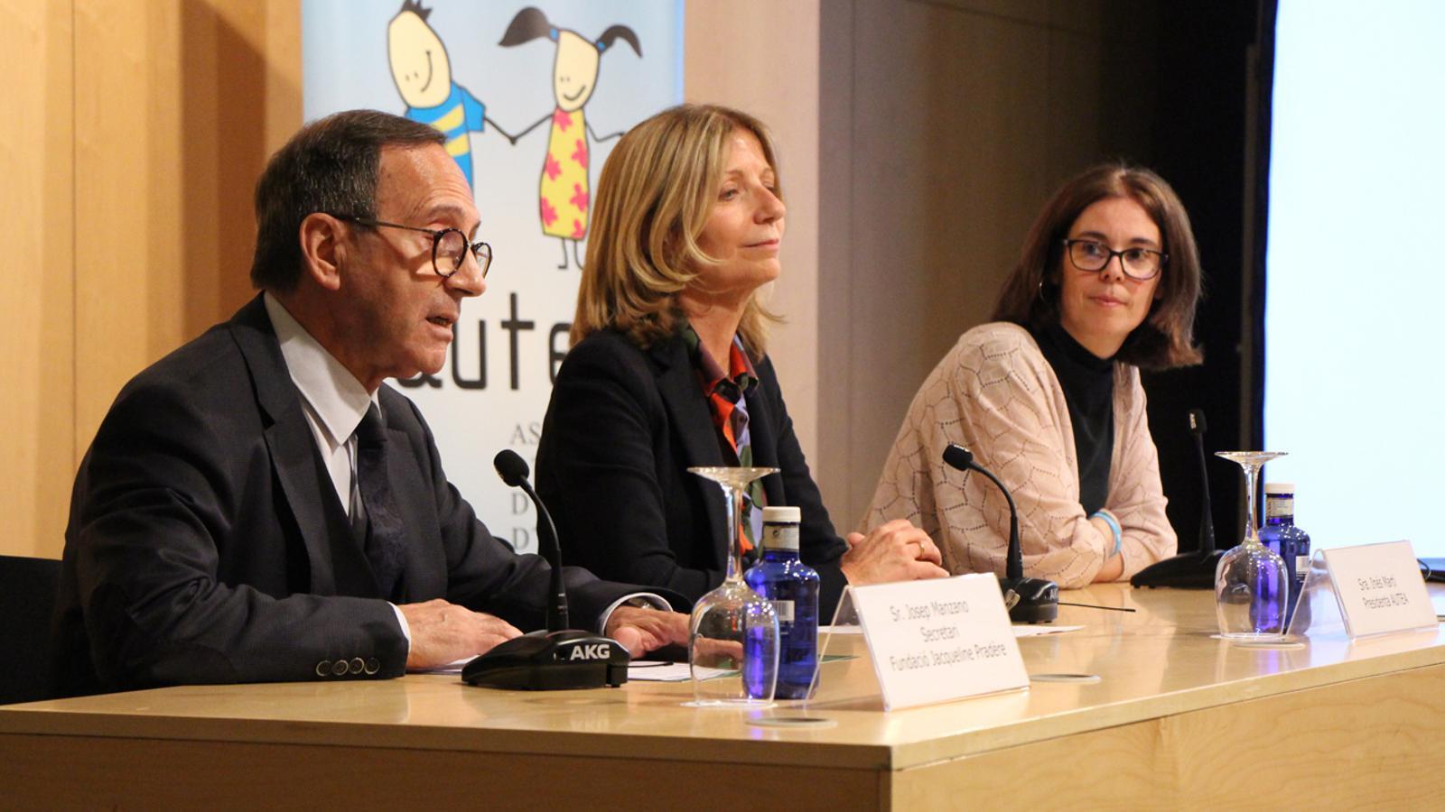 Un moment de la conferència 'Intervenció educativa en persones amb TEA' celebrada aquest dijous. / M. P. (ANA)