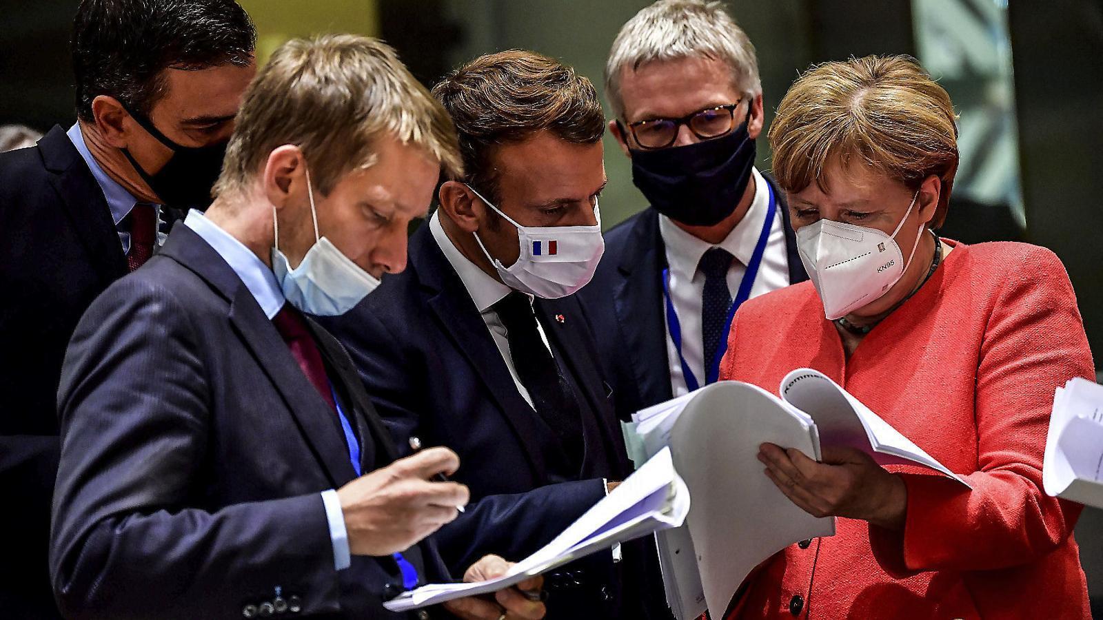 Acord salomònic  per reconstruir l'economia de la UE