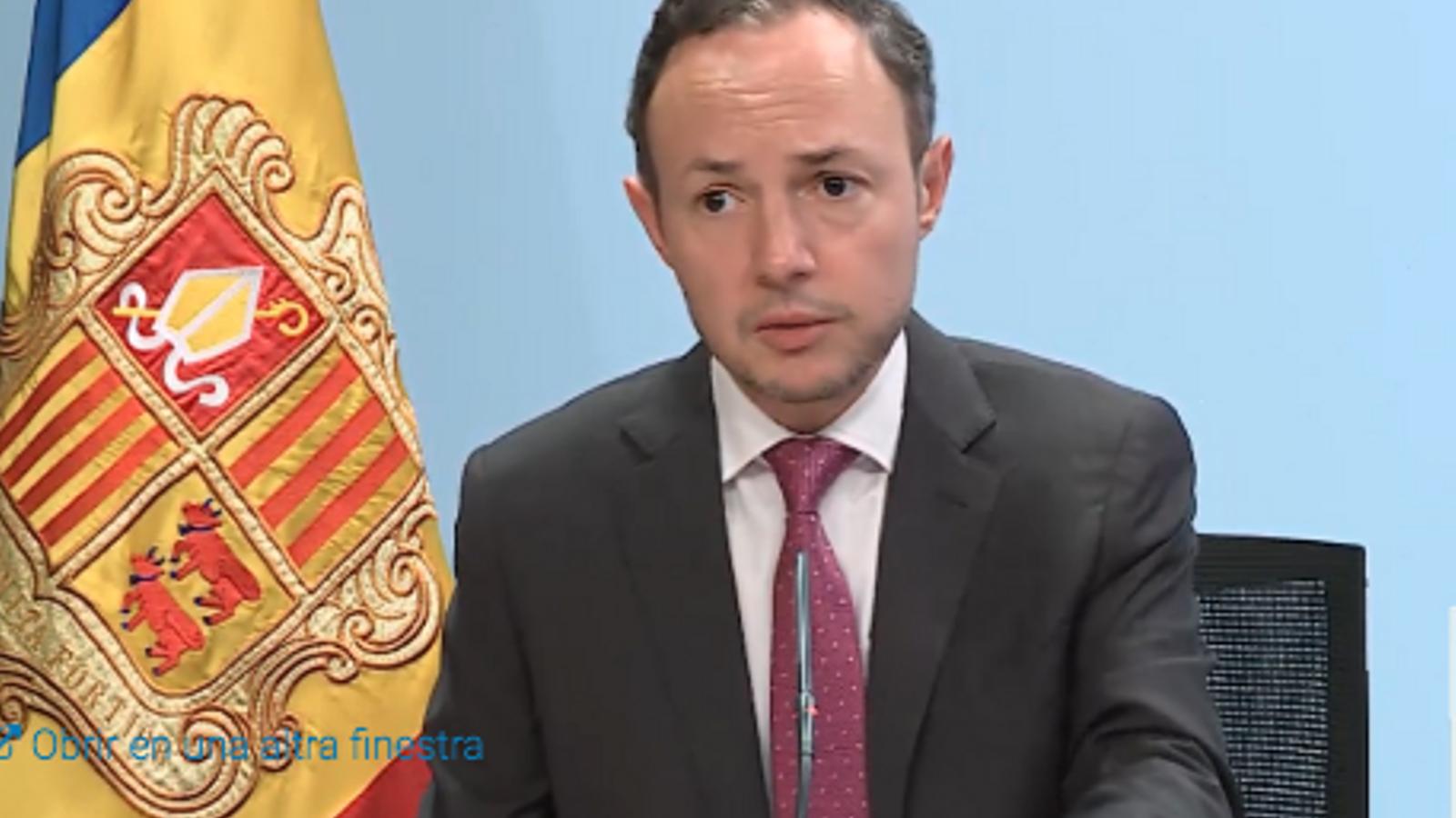 El cap de Govern, Xavier Espot, aquest dimecres