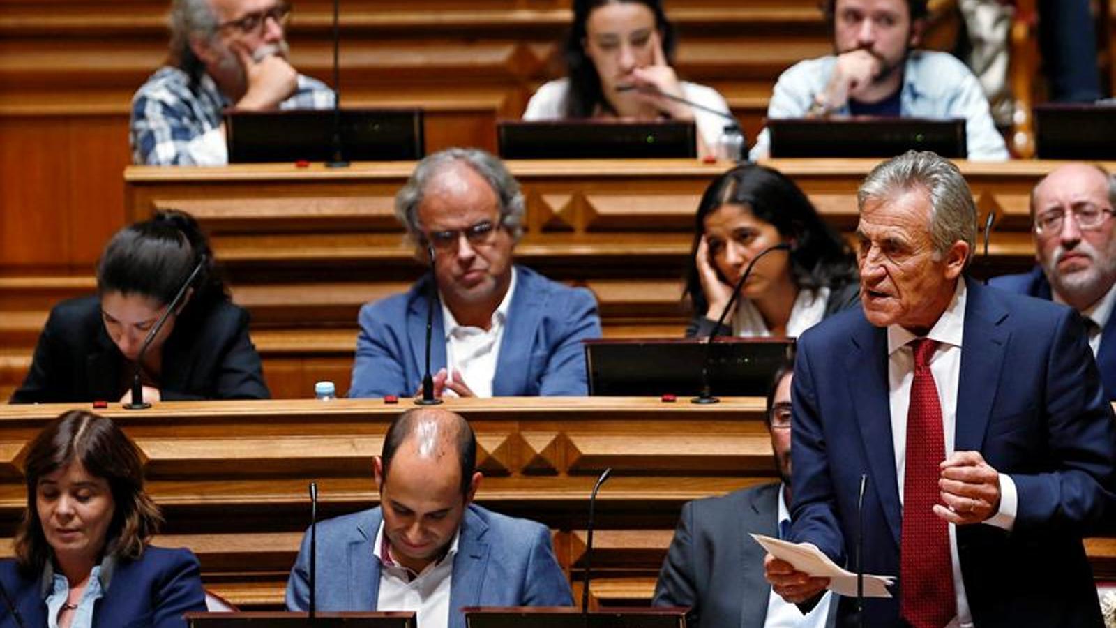 Jerónimo de Sousa, el líder del Partit Comunista de Portugal / EFE