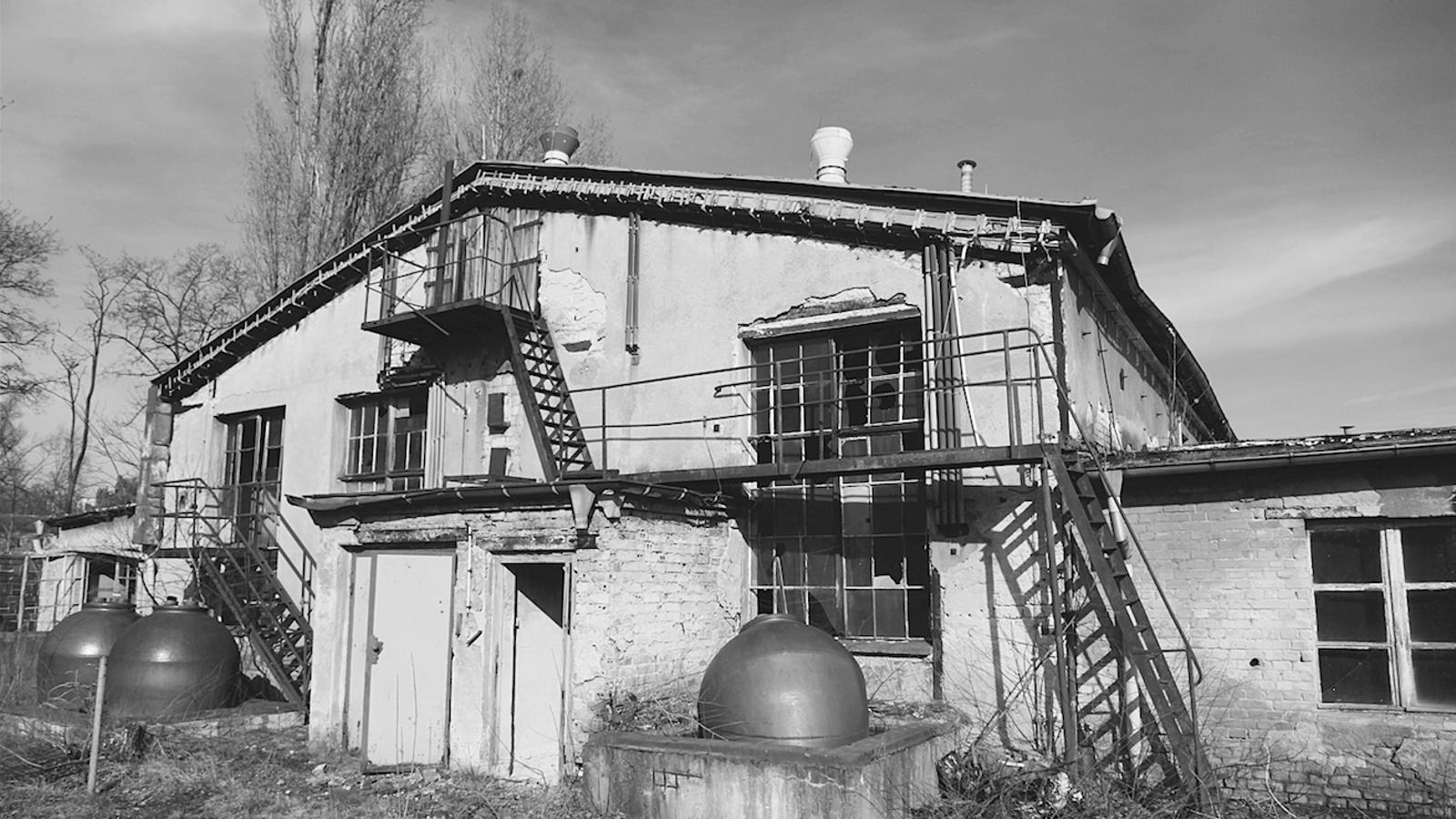 Els laboratoris Temmler a Berlín-Johannisthal avui