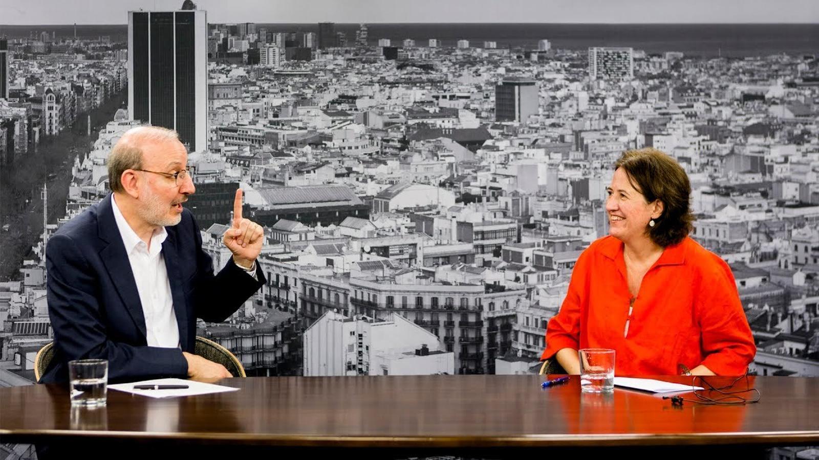 Antoni Bassas entrevista Elisenda Paluzie