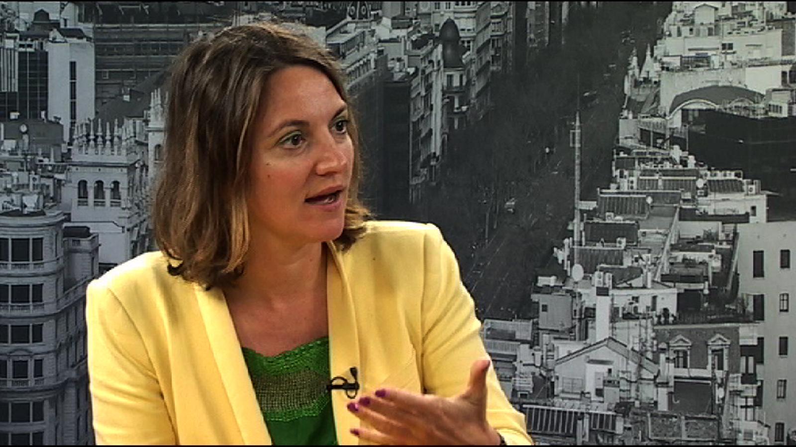 Aurélie Salvaire: El 'manterrupting' és quan els homes interrompen les dones amb un to de veu més alt o s'apropien de les seves idees