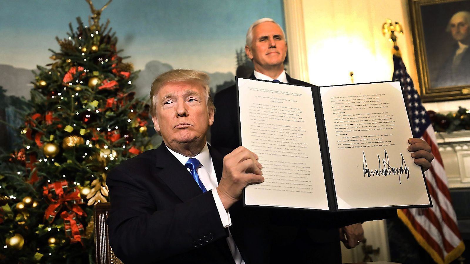 Trump encén el Pròxim Orient