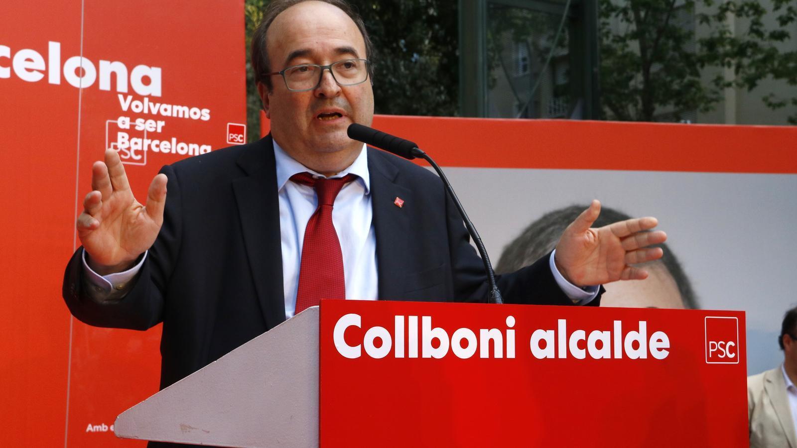 El PSOE no oferirà cap contrapartida a ERC per votar Iceta de senador