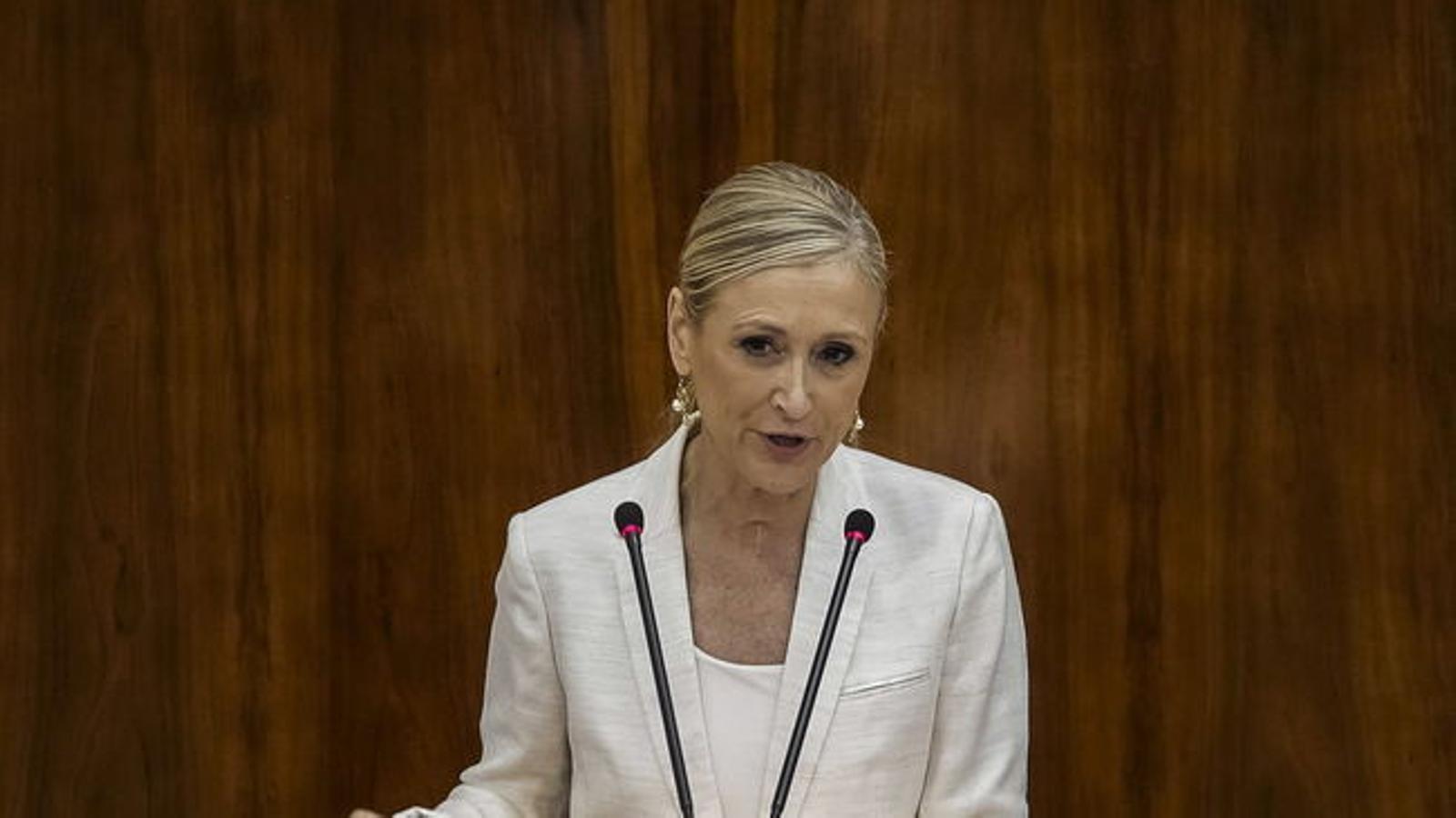 Cristina Cifuentes en una imatge d'arxiu