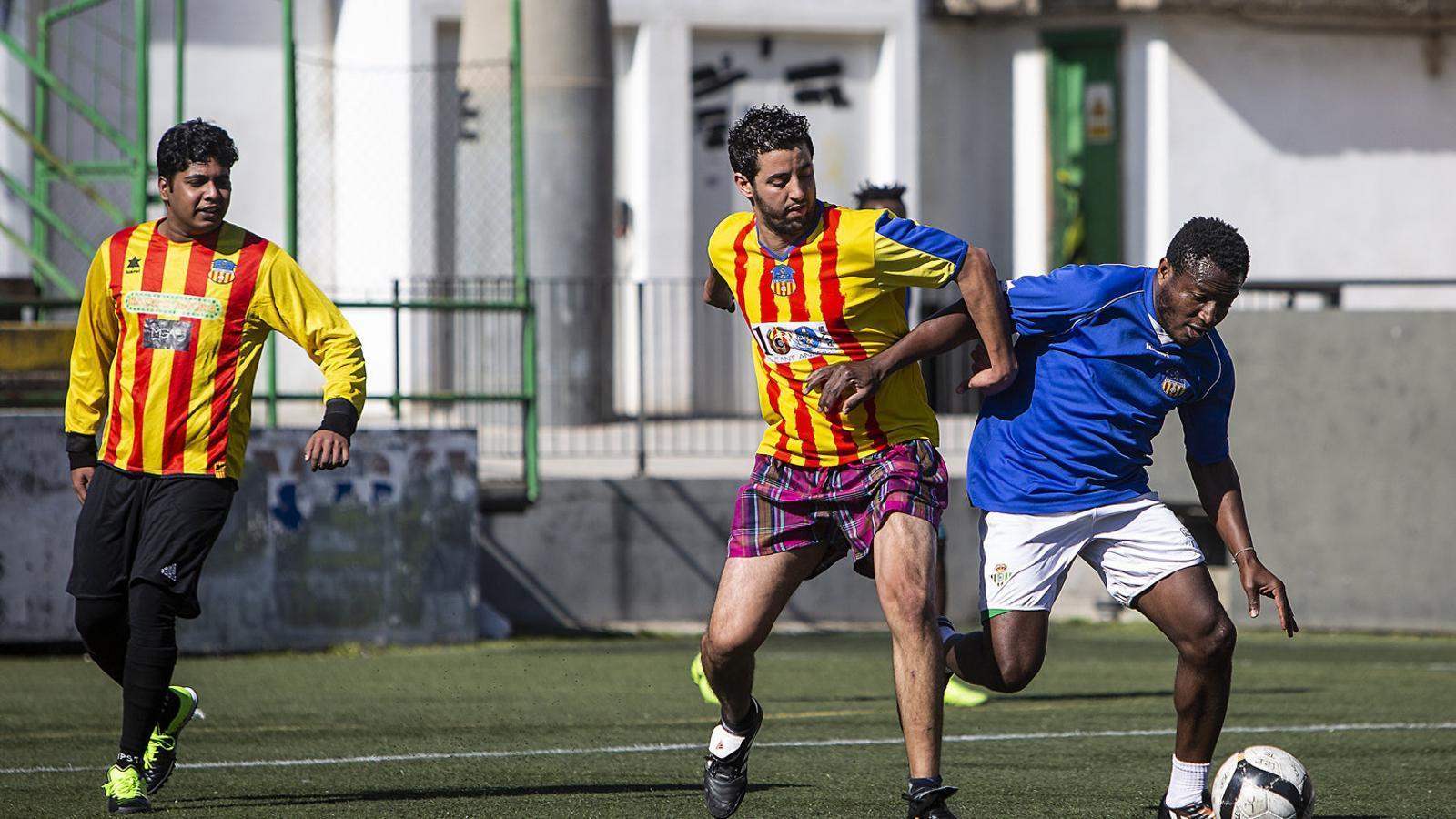 El futbol com a refugi