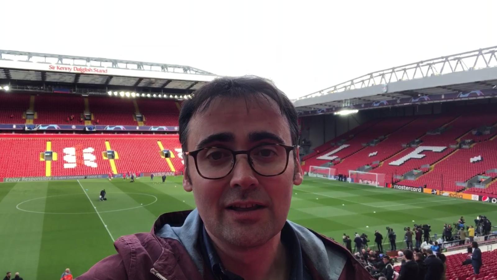 La prèvia del Liverpool-Barça de Toni Padilla