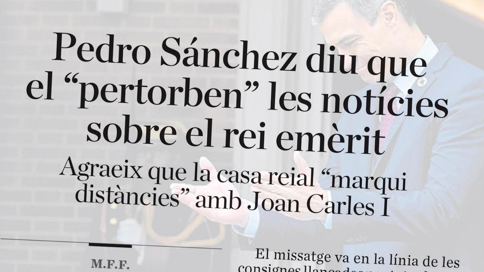 """L'anàlisi d'Antoni Bassas: """"Joan Carles I, degradat a 'anterior jefe del Estado'"""""""