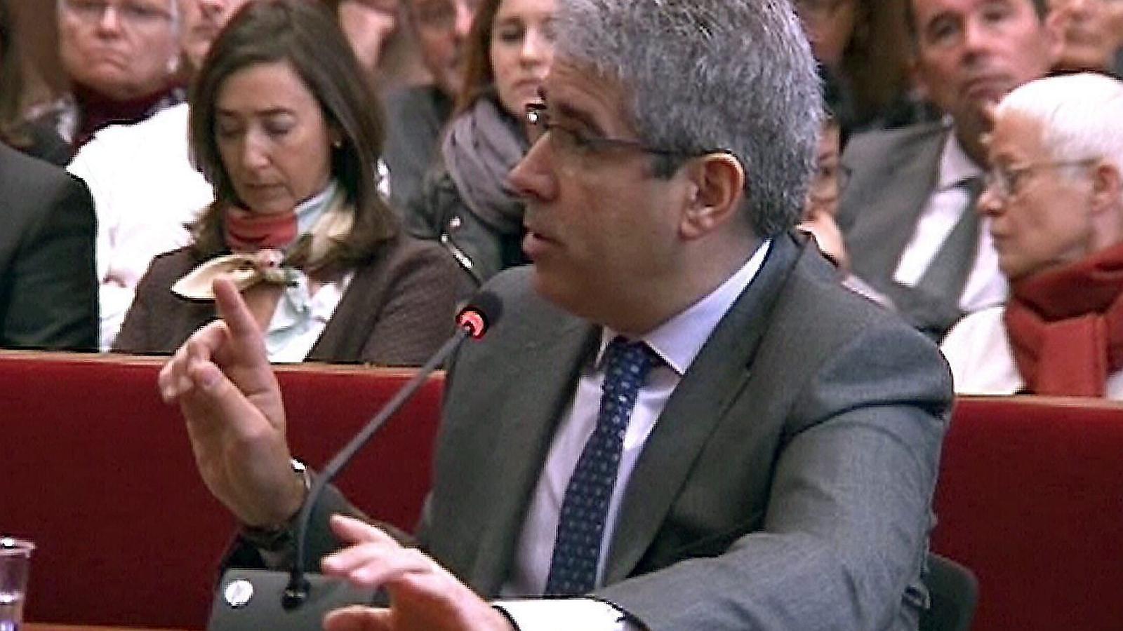 En directe, el judici de Francesc Homs pel 9-N