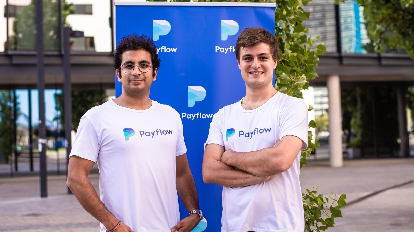 Avinash Sukhwani i Benoît Menardo, fundadors de Payflow