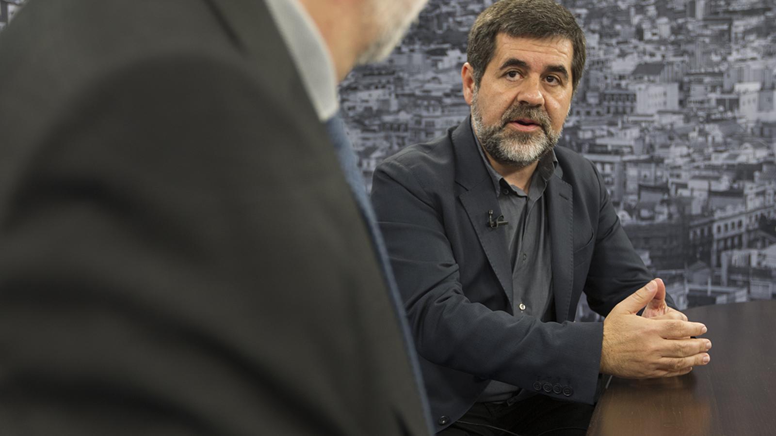 Entrevista d'Antoni Bassas a Jordi Sànchez