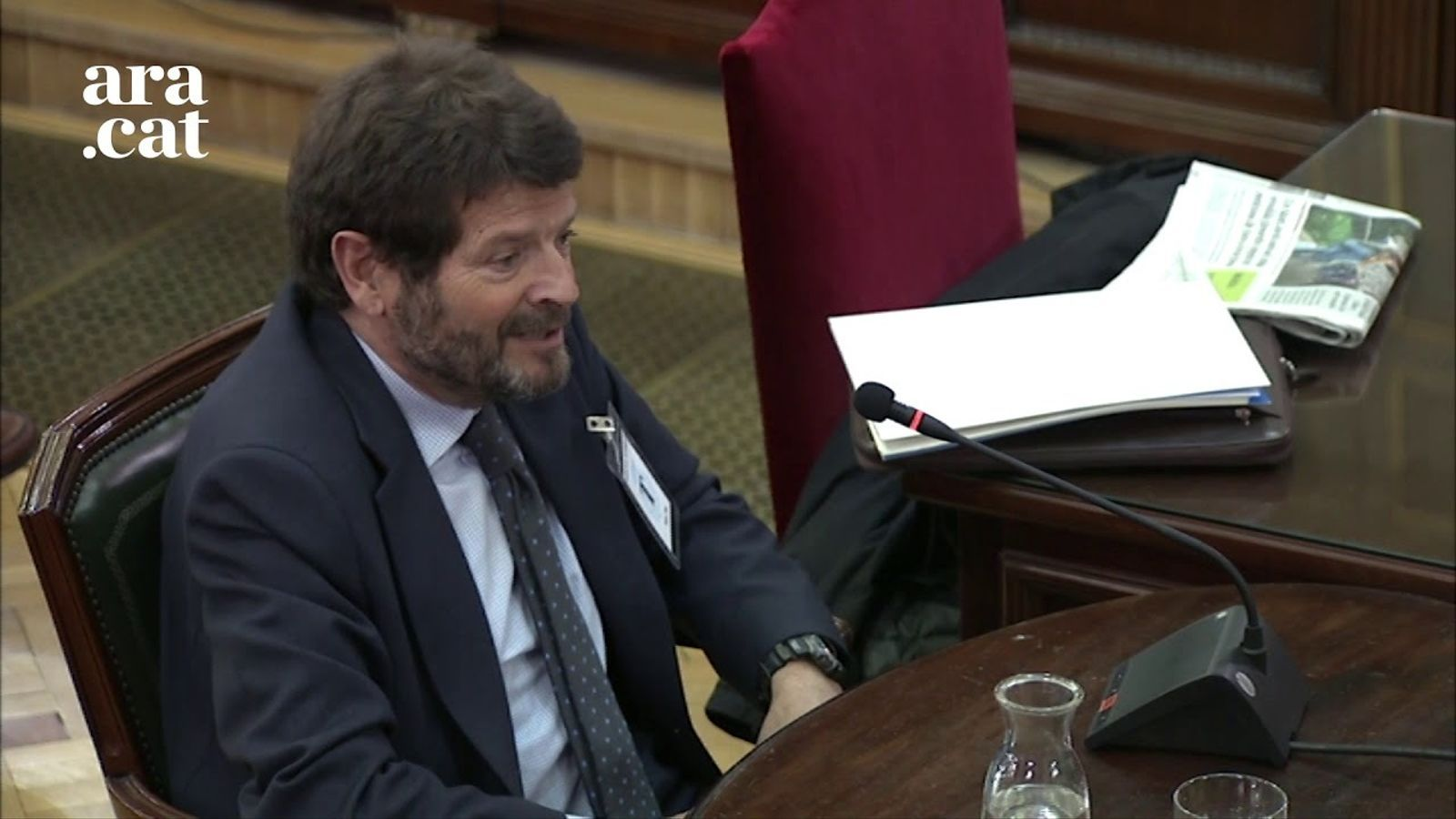 """Batlle diu al Suprem que va dimitir de director dels Mossos per """"incomoditat"""""""