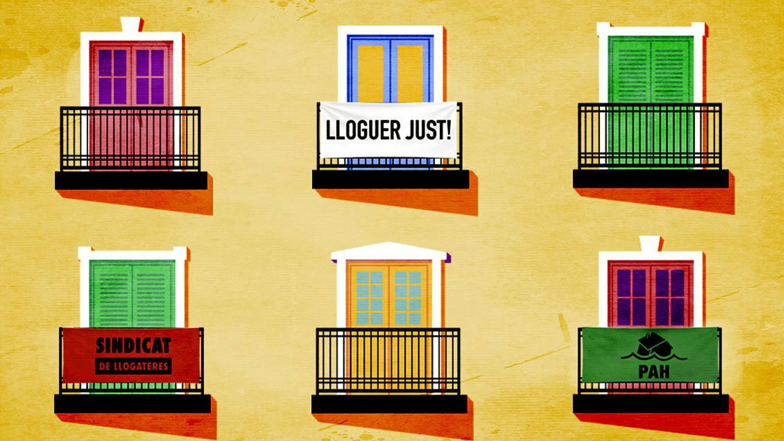 El conflicte de l'habitatge busca solucions per sortir de la paràlisi