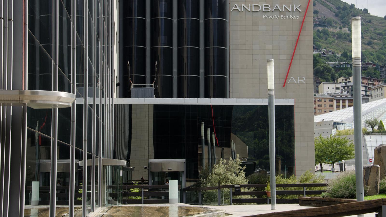 Seu central d'Andbank a Escaldes-Engordany. / D. R. (ANA)