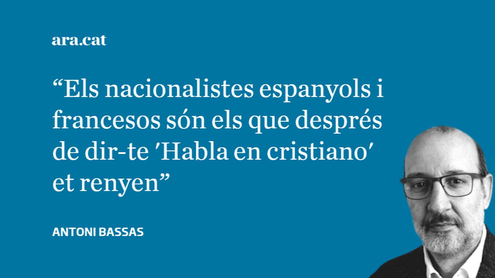 Lliçons d'il·lustres nacionalistes espanyols i francesos