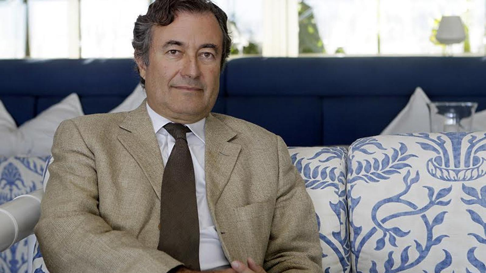 Gual de Torrella fou president de la Cambra de Comerç fins el 2013 / ISAAC BUJ