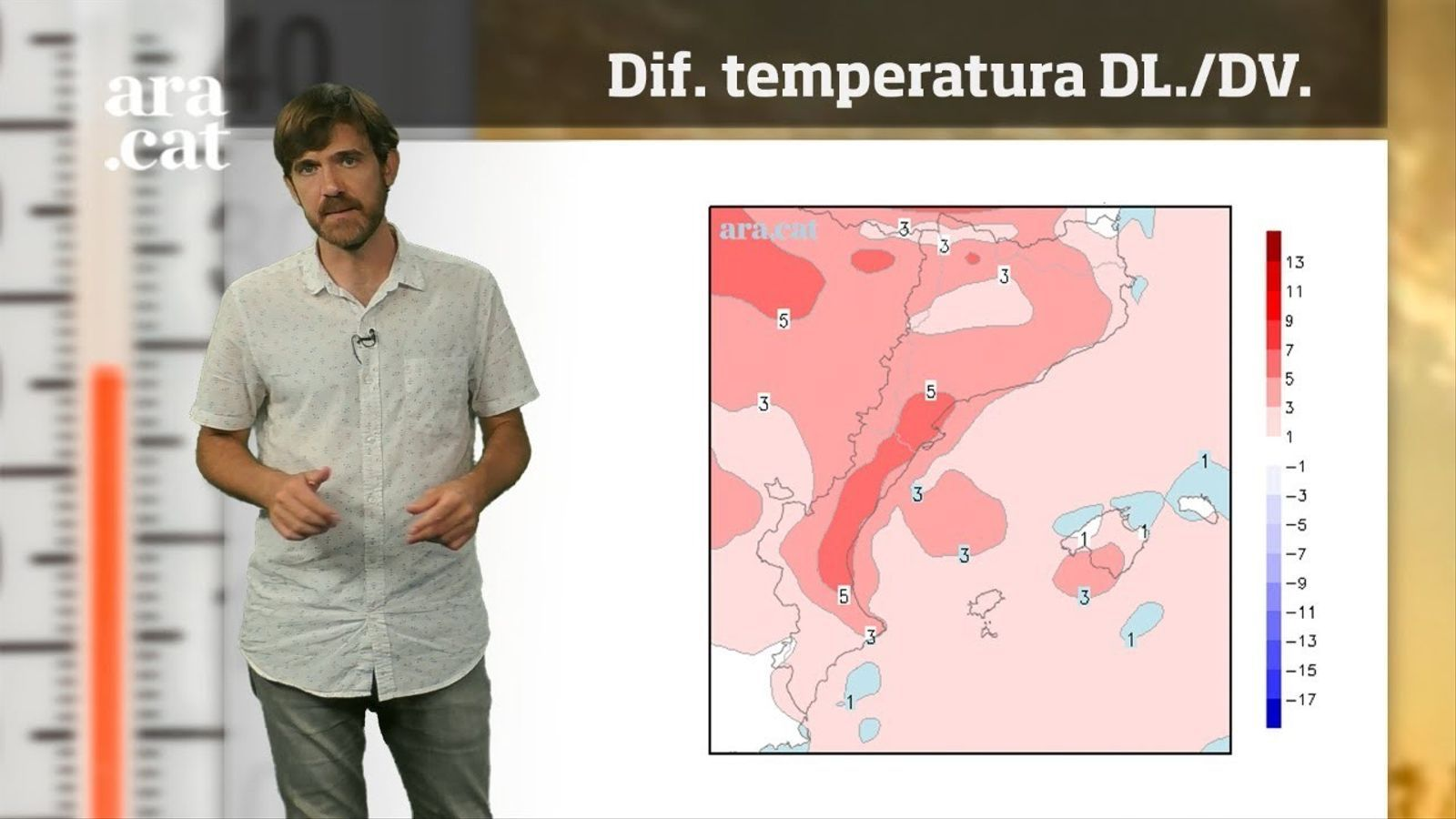 La méteo en 1 minut: arriba la calorada més forta de l'estiu fins ara
