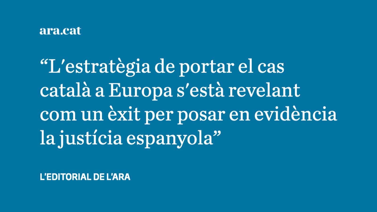 L'enèsim revés a la justícia espanyola