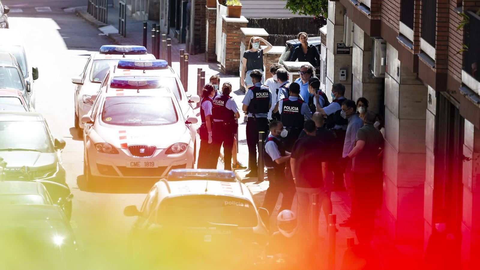 """Els Mossos detecten """"tensió"""" al carrer amb el desconfinament"""
