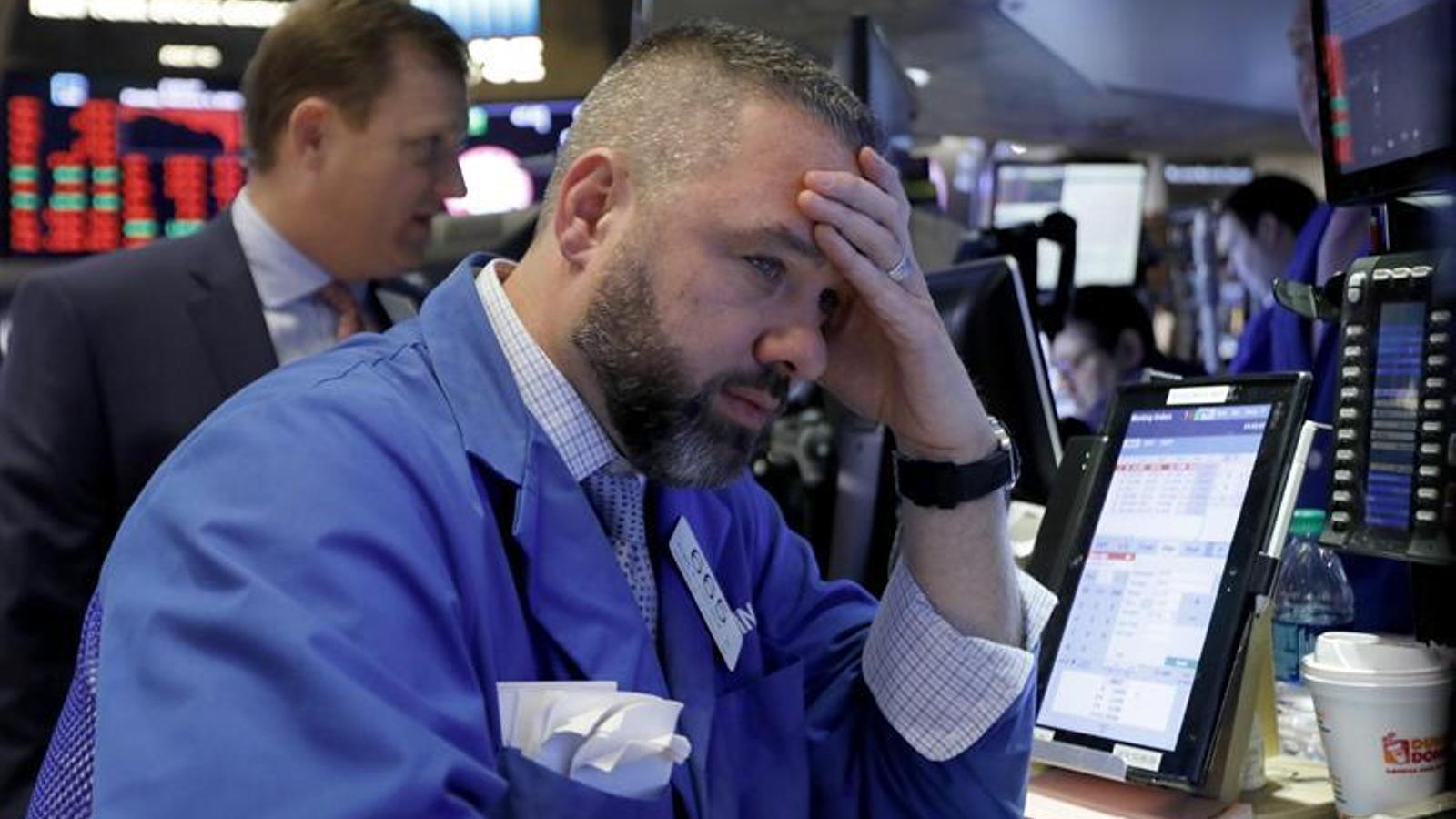 Caiguda històrica a la Borsa de Nova York