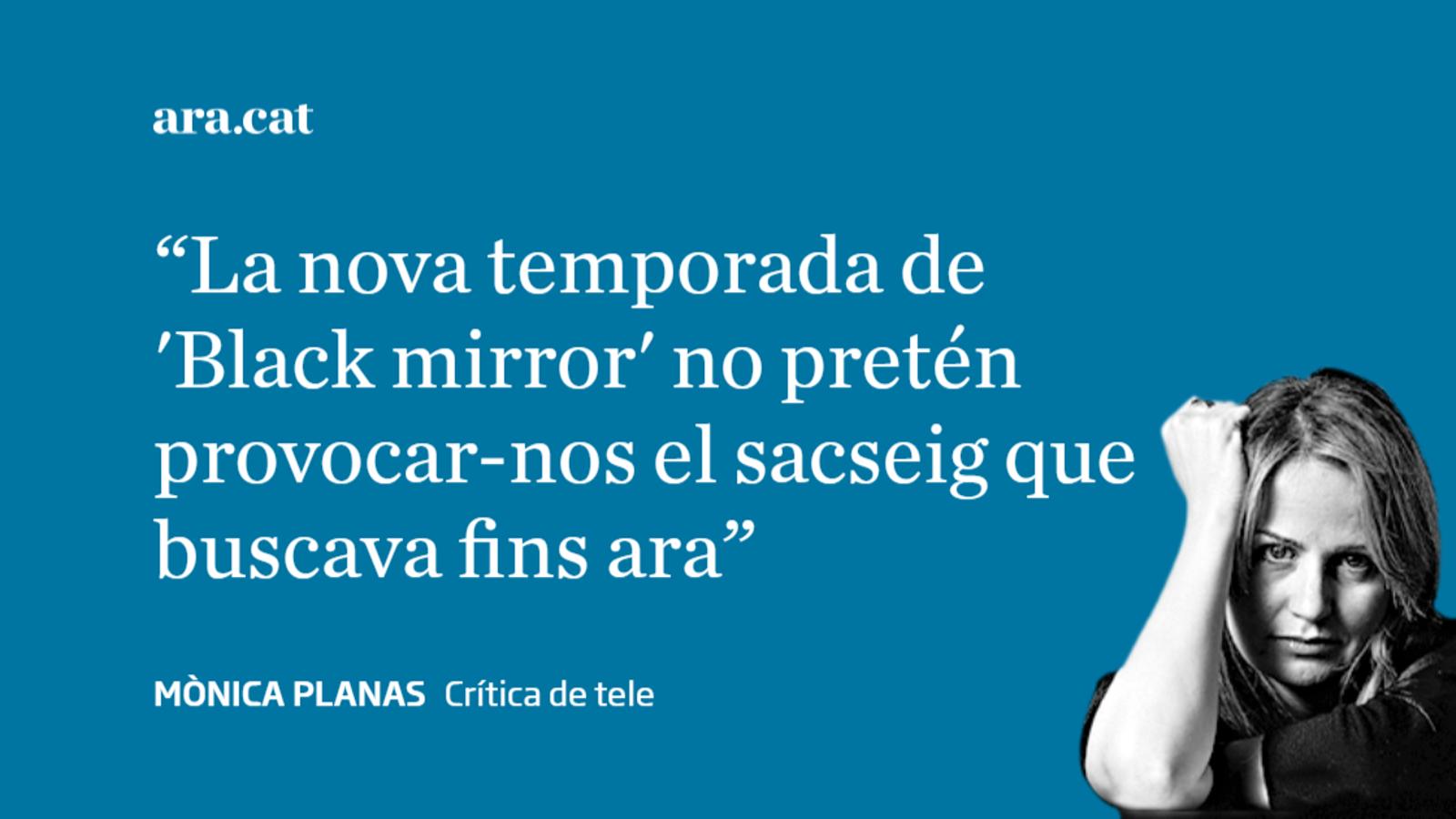 'Black mirror', menys 'black' i poc 'mirror'