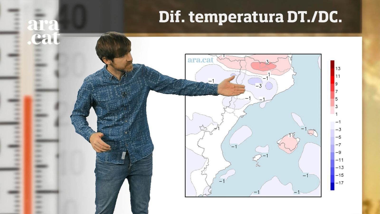 La méteo en 1 minut: nits més fredes i migdies amb temperatura a ratlla