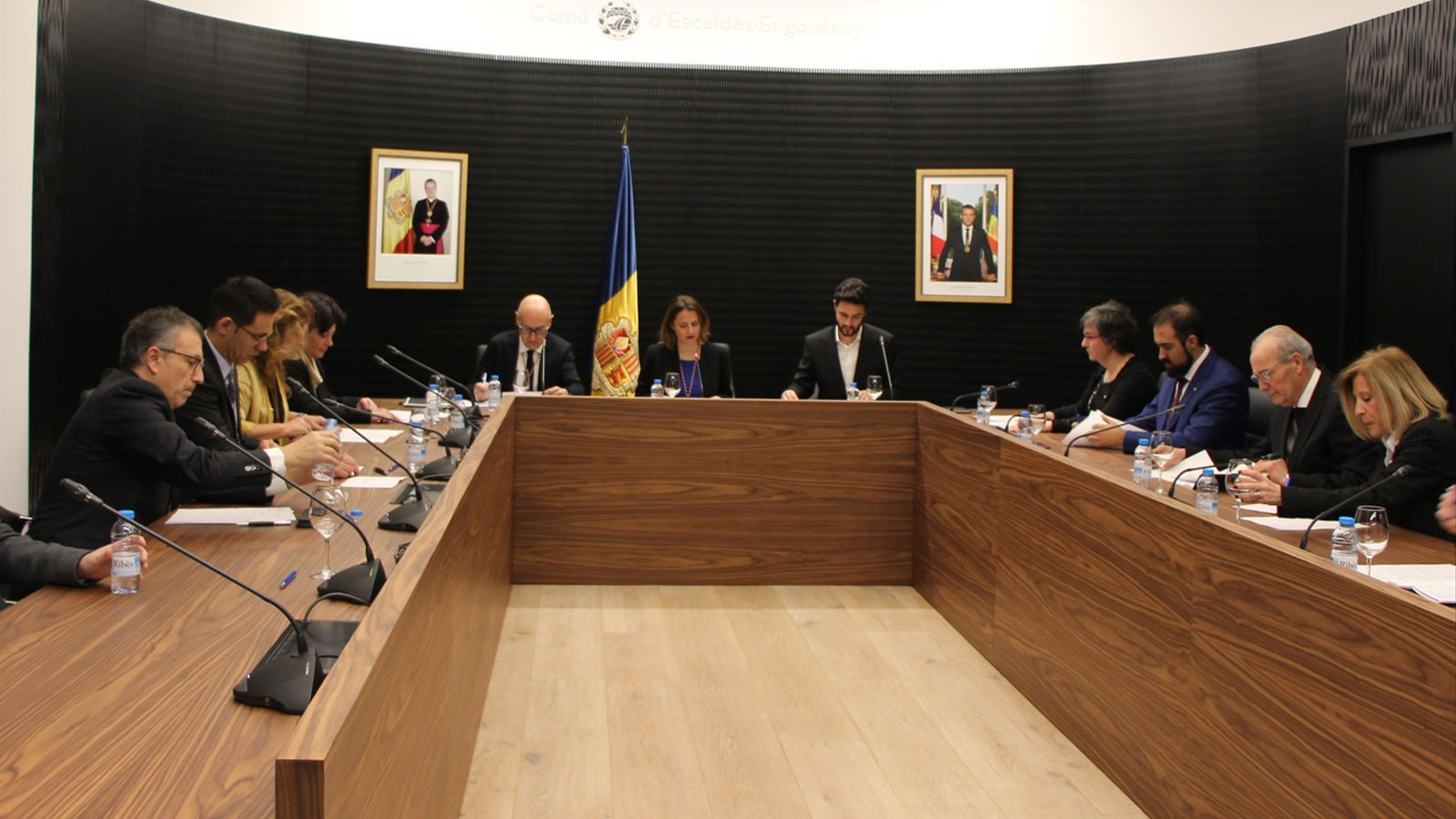 La darrera sessió ordinària del consell de comú d'Escaldes-Engordany. / A. S. (ANA)
