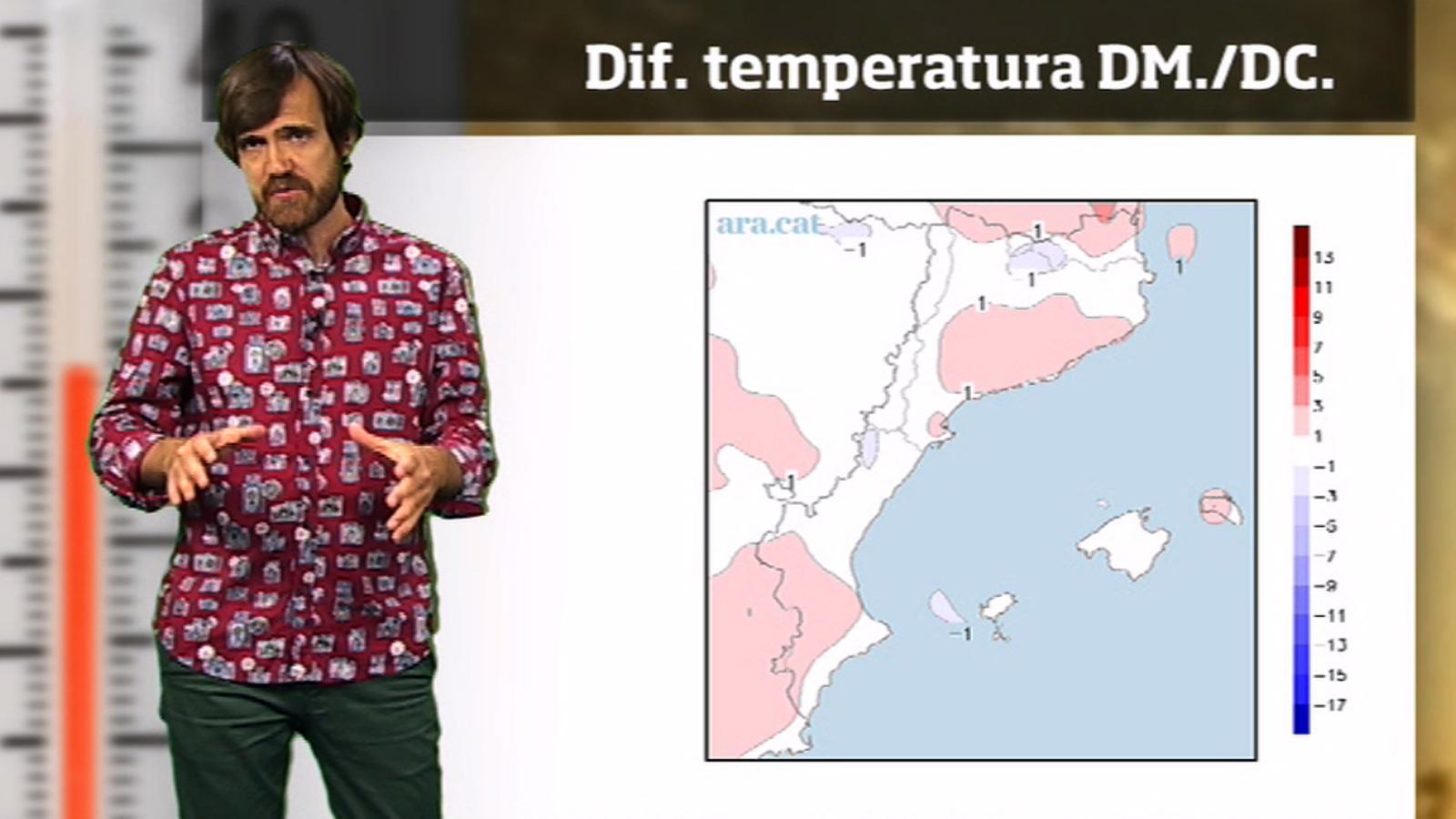 La méteo en 1 minut: l'estiu arrencarà amb una altra calorada forta
