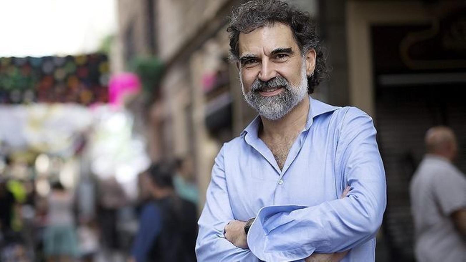 Jordi Cuixart en una imatge d'arxiu