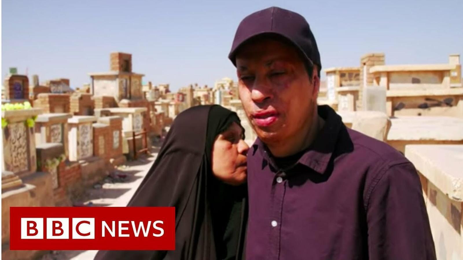 Programa de la BBC del retrobament d'Amar amb la seva mare