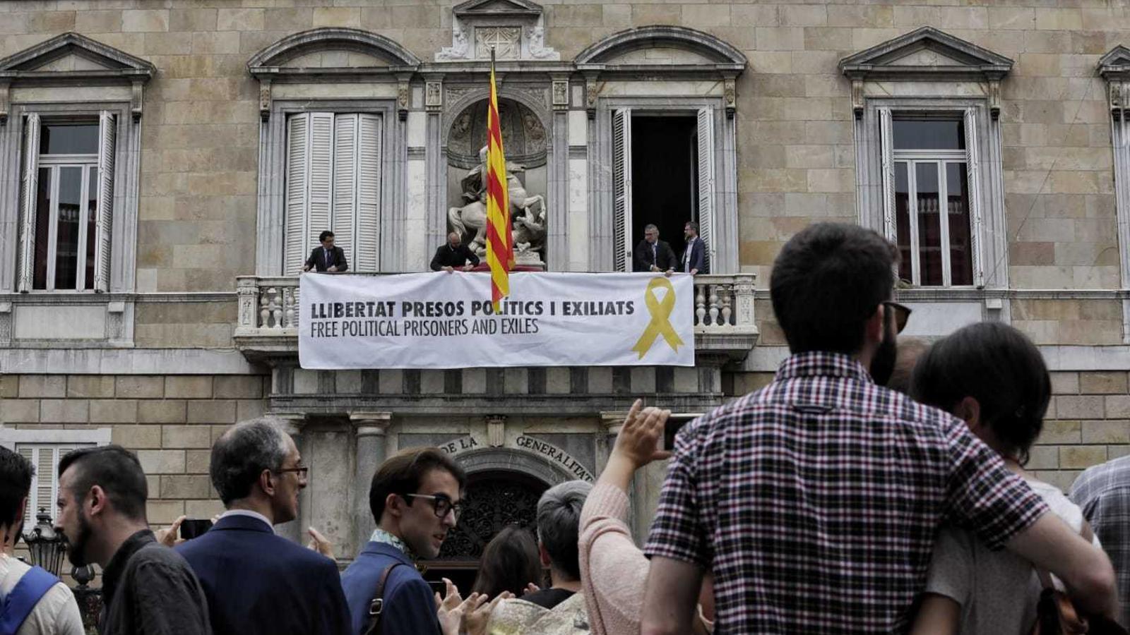 La Junta Electoral dona 48 hores a Torra per retirar els llaços grocs dels edificis públics