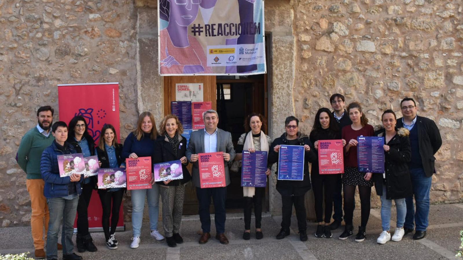 Presentació del programa d'activitats del Dia de la Dona, a Inca.