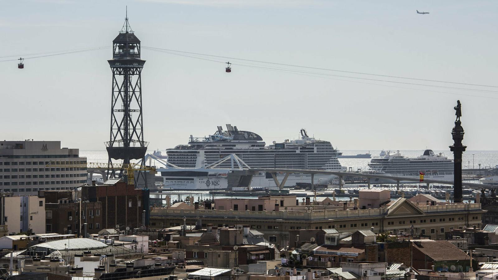 ¿Qué perdería Barcelona sin los cruceros?