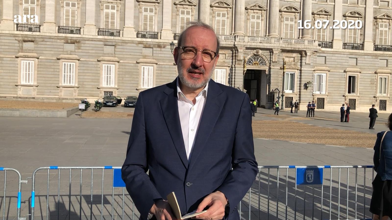 L'anàlisi d'Antoni Bassas: 'A Madrid, en memòria de les víctimes'